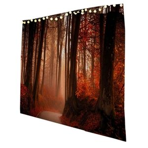 80x60 wood forest tapestry